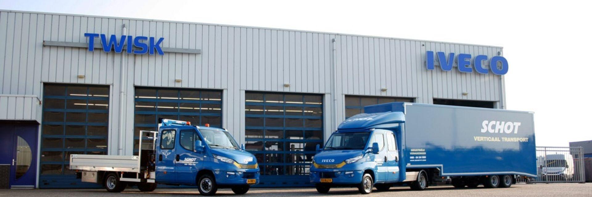 2 unieke IVECO's voor Schot Verticaal Transport!