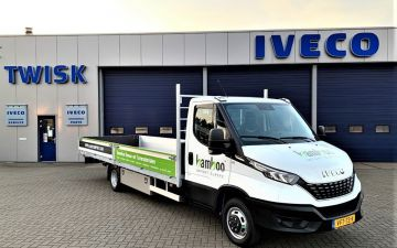 Bamboo import - Iveco Daily 50C18ha8  + Twisk laadbak