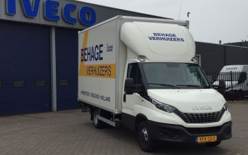 Behage verhuizers - Iveco Daily 50C18ha8 + citybox