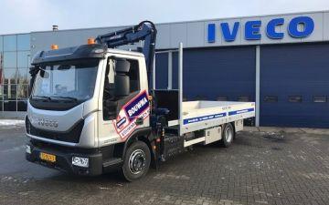 Bouwma bouwmachines - Iveco Eurocargo + Twisk opbouw