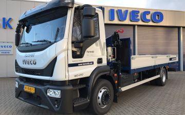 Harsveld - Iveco Eurocargo ML160E21P + twisk laadbak
