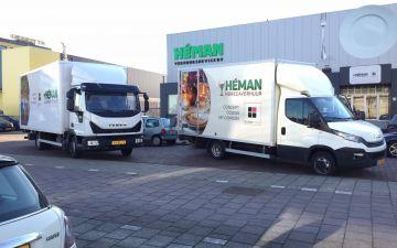 Heman - Iveco Eurocargo + Iveco Daily