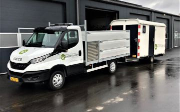 Kroon tuinen - Iveco Daily 40C18 + twisk kieper