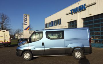 Oudshoorn Schagen - Iveco Daily 35s18v dubbele cabine