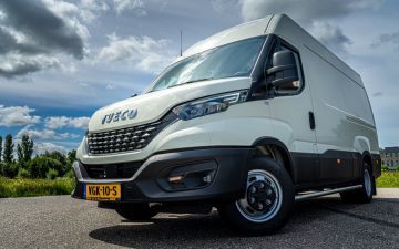 P Palsma - Iveco Daily 35C18Ha8 Luchtvering