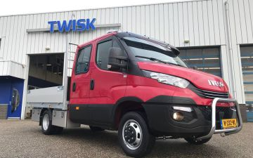 Rood Groen Service - Iveco Daily 50C18a8 + Twisk laadbak