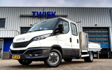 Stichting GGZ - Iveco Daily 35C14Ha8D + Twisk laadbak