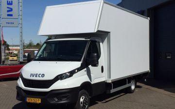 VDW verhuizingen - Iveco Daily 50c18ha8 + Citybox laadbak
